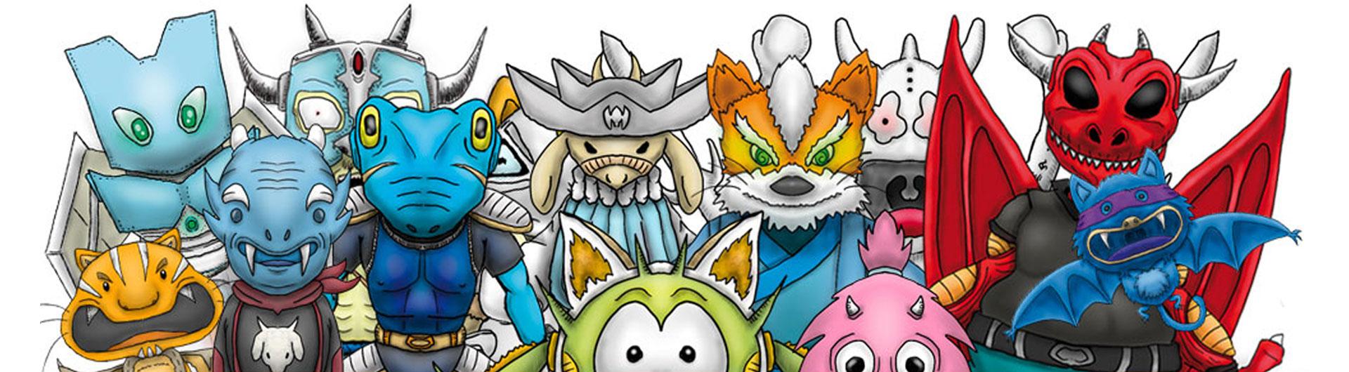 Ilustración y diseño de personajes en 2D