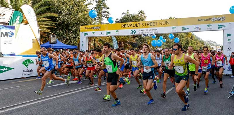 Salida 39 carrera urbana de Málaga - 10 kilómetros