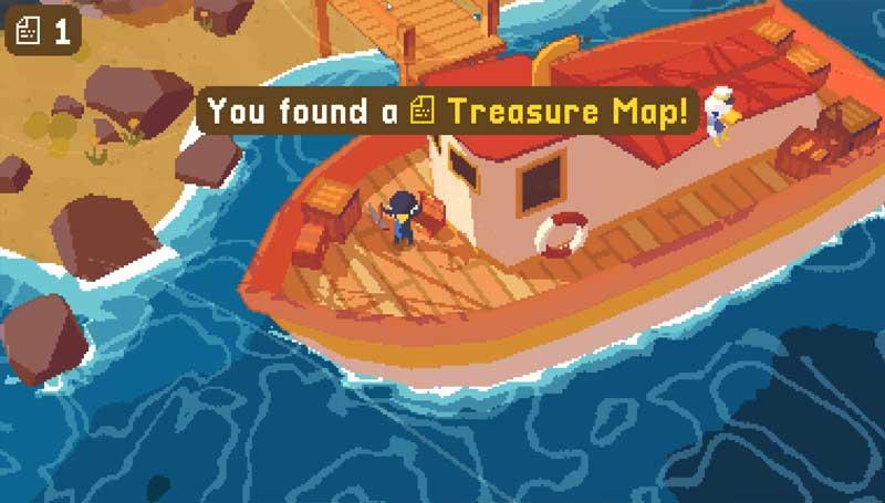 Una isla llena de secretos y pequeñas actividades para al menos 5 horas de juego