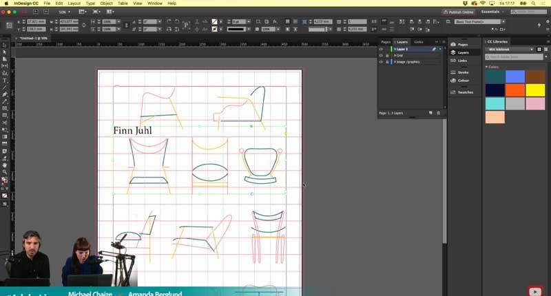 Ejemplo de cómo son los programas de Adobe Creative Cloud
