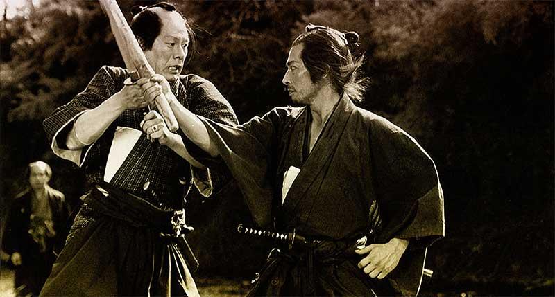 Imagen de Seibei en un combate en El Ocaso del Samurái