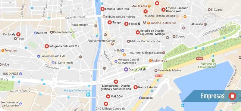 Consulta Google Maps para encontrar empresas interesantes