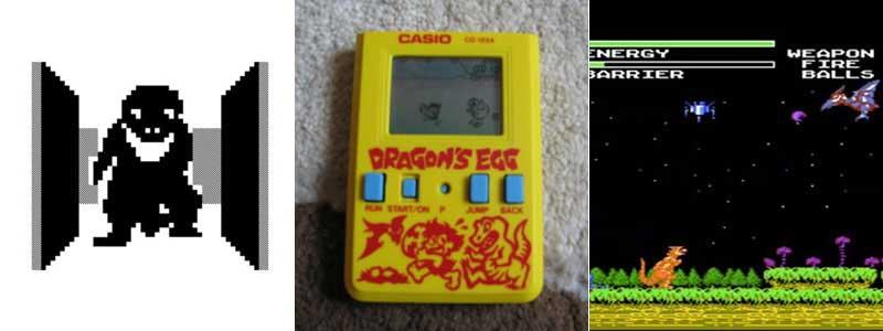 3D Maze, Dragons EGG y Dynowarz