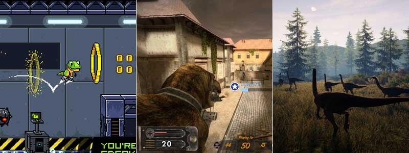 JumpJet Rex, Dino D-Day y The Isle como algunos de los mejores juegos de Steam