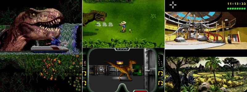 Jurassic Park para Sega Mega Drive, SNES y Mega CD