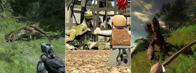 Jurassic: The Hunted, Lego Jurassic World y TheHunter: Primal