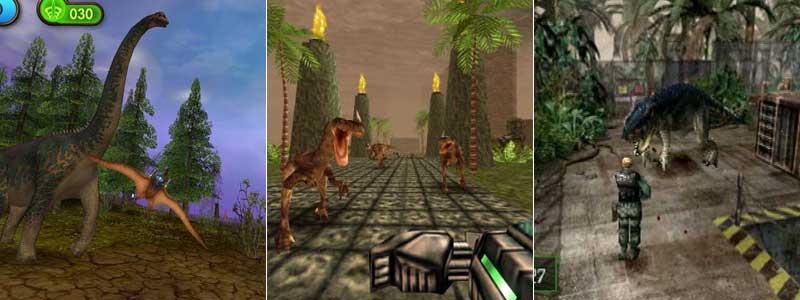 Nanosaur 1 y 2, saga Turok y la serie Dino Crisis