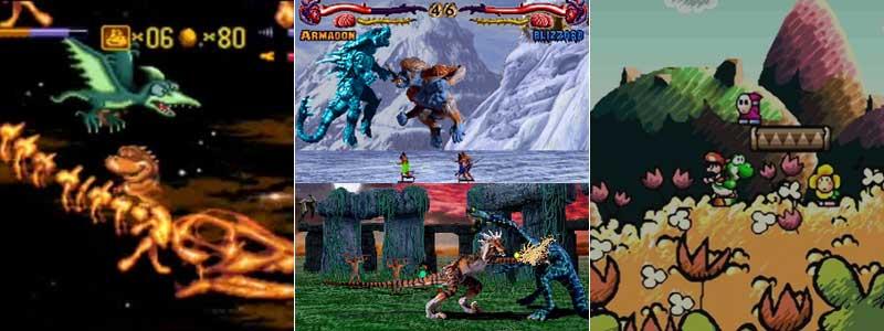 Radical Rex, Primal Rage y los juegos de Yoshi