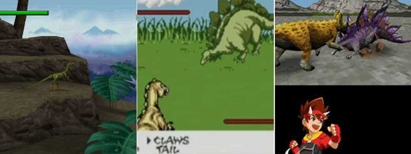 The Lost World, DINOSAUR'US y Dinosaur King de DS