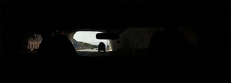 Escena primera de mi cortometraje experimental en Málaga