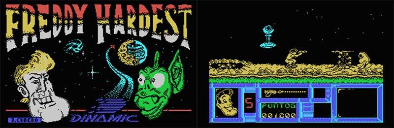 Freddy Hardest un magnífico juego de acción