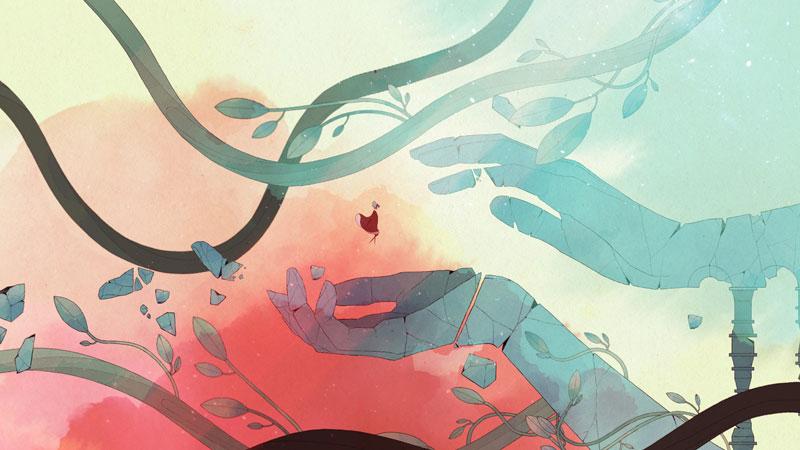 Gris, para mi, el videojuego español más bonito y artístico