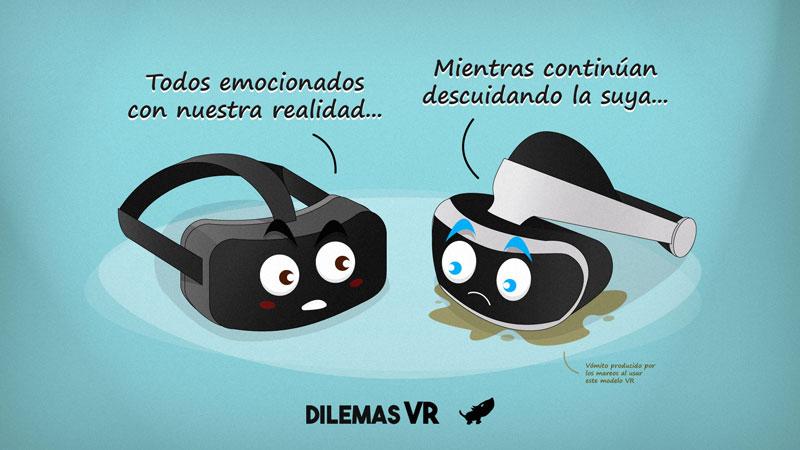 Humor Con Memes De La Realidad Virtual De Oculus Y