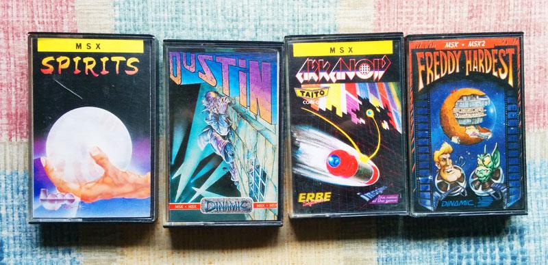 Mi colección de mejores juegos de MSX - Parte 1