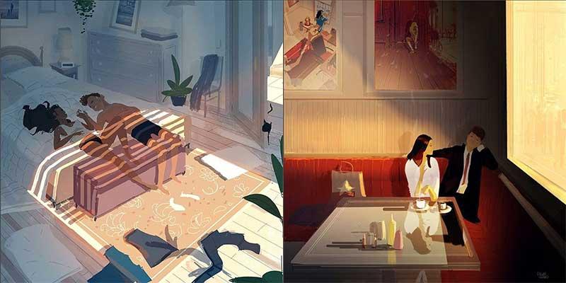 Pascal Campion Art uno de los mejores ilustradores descubiertos en Instagram