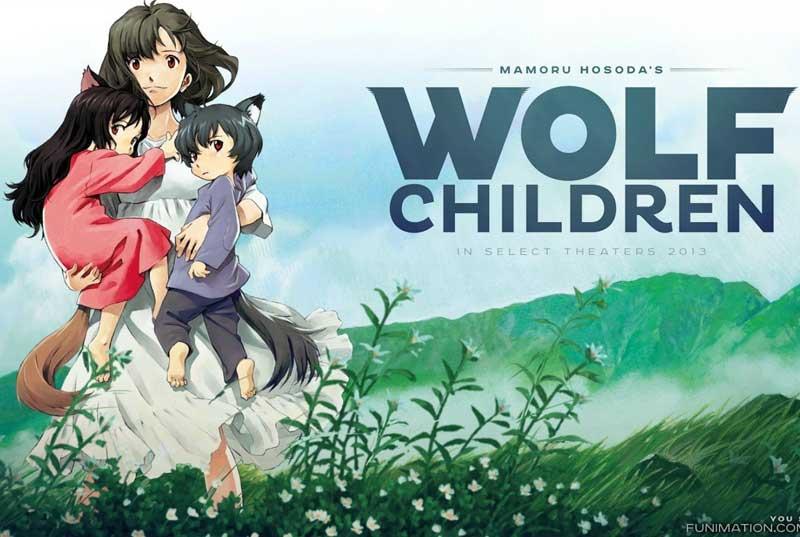 Los niños Lobo - Película anime perfecta para ver en familia