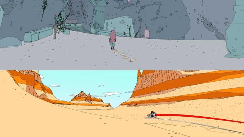 Cómic europeo hecho videojuego con Sable de Shedworks