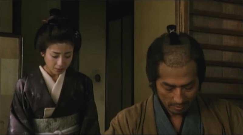 Imagen de Tomoe en El Ocaso del Samurái